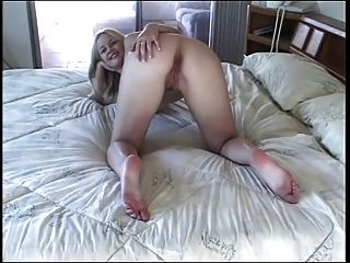 Amazing Young Blonde Cheerleader For Old Randy