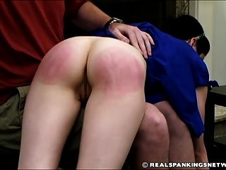 Severe Otk Hairbrush Spanking Punishment