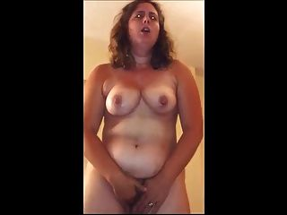 Bbw standing hitachi fun