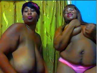 African Dancing Duo