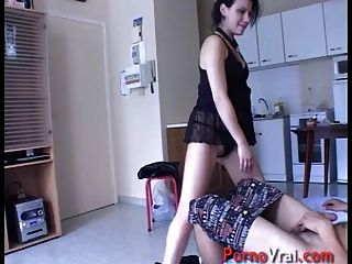 French Casting With Accidental Creampie !!!! French Amateur