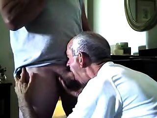 Retired Cop Gets A Blowjob