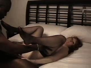 Bbc makes wife grunt and soak the bed 4