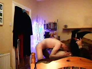 Homemade Cd Fucked In Doggy Pose