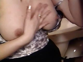 Spanked wife lesson red wet