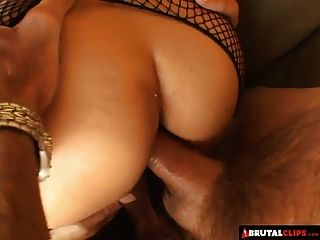 Creampie double penetration whore