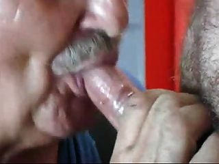 Hardworking Grandpa Is Just Great In Blow Job Activities