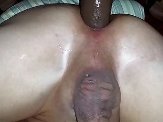 Pegging Strapon Till Husband Cums
