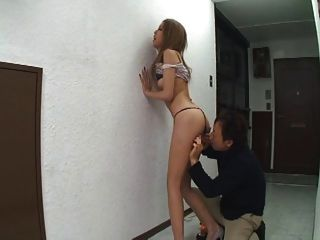 Japanese Girl Enjoys Anal