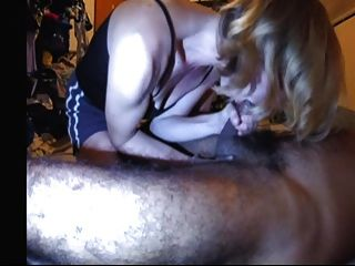 Amateur Wife Milks Prostate Blowjob Sucks Head Swallows Cum