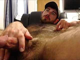 Str8 Muscle With Big Blue Eyes Quick Cum