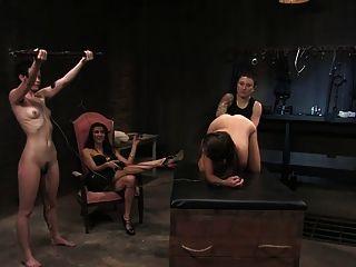 Bdsm Electro Mistress Punishment Fist