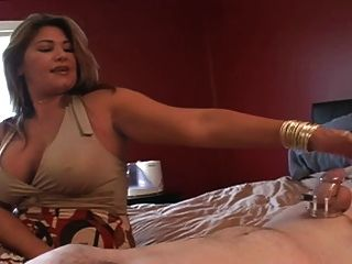 Step Mom Visits Cuck After Her Date