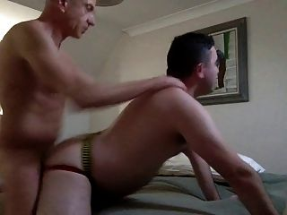 Hung Daddy Breeds Tight Twink Boypussy