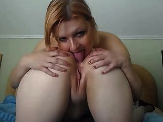Homemade lesbian asslicking