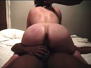 Mature Blindfolded Taking Bbc, Dp And Anal