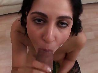 Huge Tits Girlfriend Gets A Huge Facial Blast