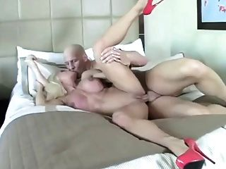 Blonde Milf With Big Clit Getting Fucked