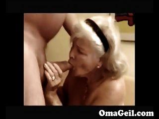 Granddrauge suck grandpa cock