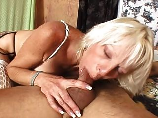 Blonde Mature Anal Slut
