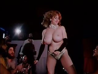 Vintage Big Boobs Stripper Hairy Bush