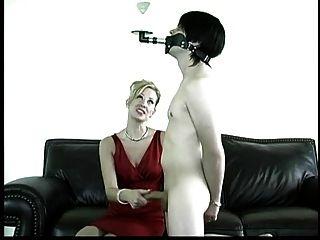 Mistress Gives Slave A Challenge.