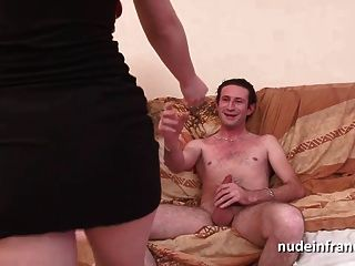 Casting Amateur French Redhead Ass Nailed And Jizzed On Body