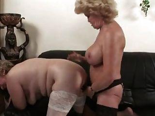 Hungarian Lesbian Grannies
