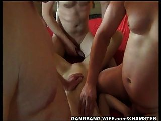 Gangbang With 18 Year Old Daniela