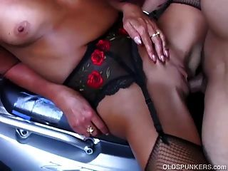 Super Cute Mature Honey In Sexy Stockings Is A Very Hot Fuck