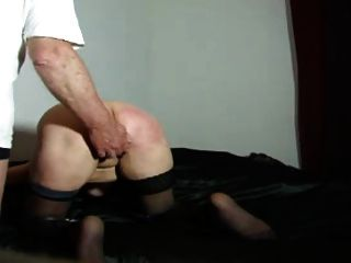 spanking wet horny knee ass hard