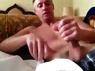 Str8 Daddy Quick Cum For His Girlfriend