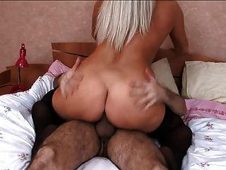 Hot Russian Mature In Stockings Fuck At Bedroom