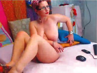 Hottie Passionately Fucking Her Hairy Asshole