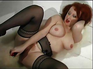 Ginger Milf Teases & Fucks Her Cunt