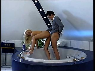 Blonde Milf - Bathroom Seduction