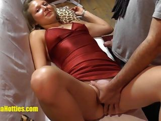 Cute Czech Girl Gets Licked And Fucked At First Casting