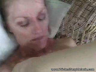 Slut Melanie Fucks For Real