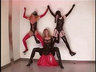 and rubber in pvc latex Lesbians