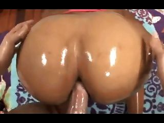Sweet Ebony Anal And Atm Facial