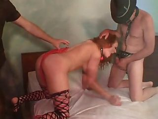 Awesome Audrey Hard Double Anal And Reverse Anal Piledriver