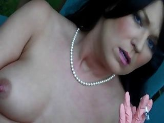 Hot Sexy Brunette Cougar Smoking Compliation