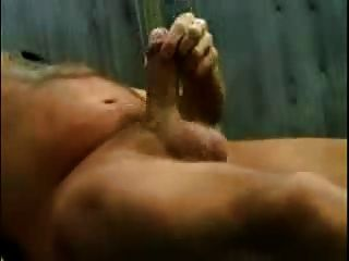 Old Men Cum Outdoor