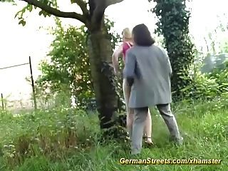 Real German Sex Streets