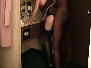 Husband Films His Wife Take Big Black Dick 4