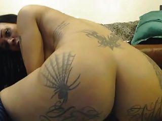 Nice Tatooed Girl Webcam Fisted All Holes 4