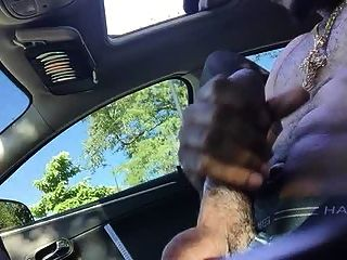 Str8 Daddy Stroke In The Car