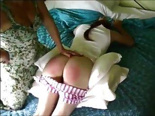 Bedroom Spanking