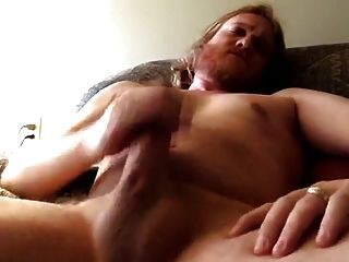 Str8 Red Bear Daddy So Happy Cumshot