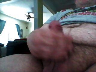 Fat Guy Small Dick Cum